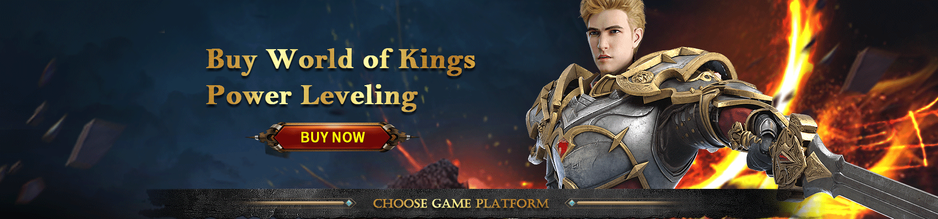 World of Kings Power Leveling